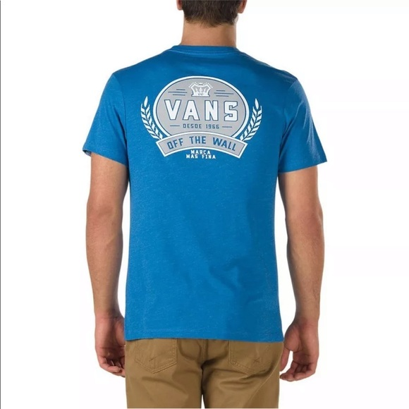 2d0685360d58f7 Vans Men s Van Doren Rubber Co. Custom Fit Tee